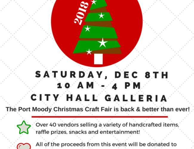 Christmas Craft Show Items.3rd Annual Port Moody Christmas Craft Fair This Saturday
